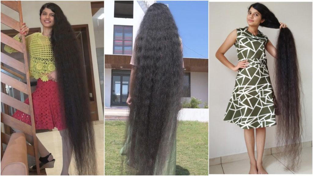 Самыедлинные волосы