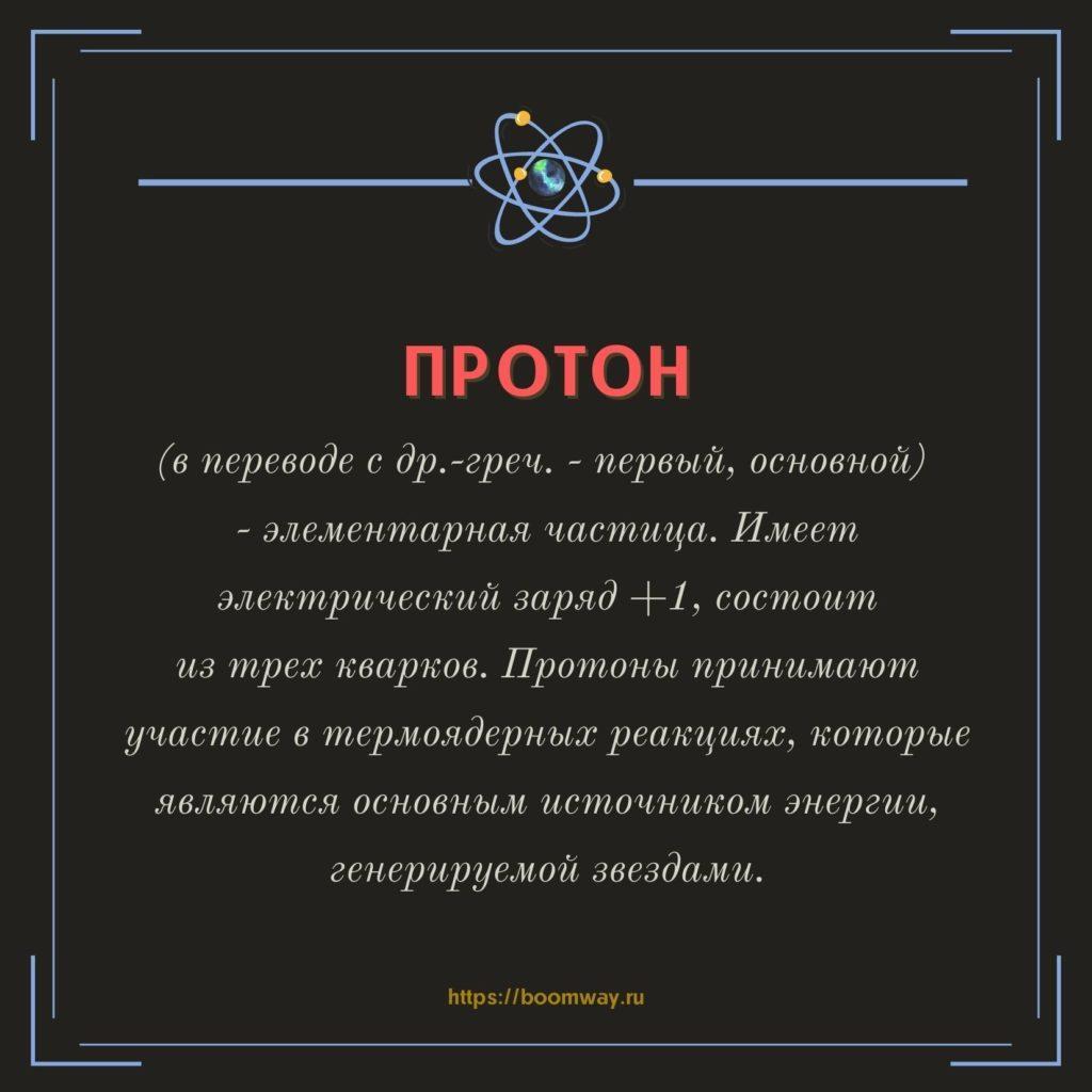 протон БАК