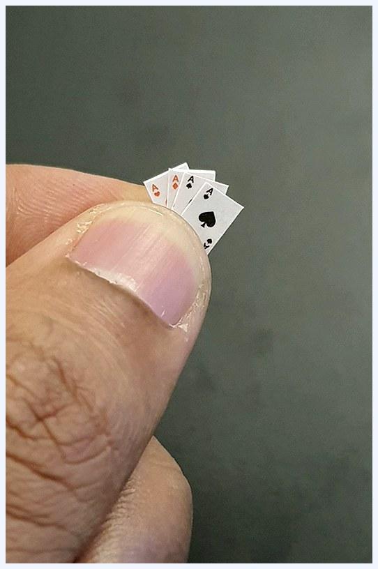 самая маленькая карточная колода