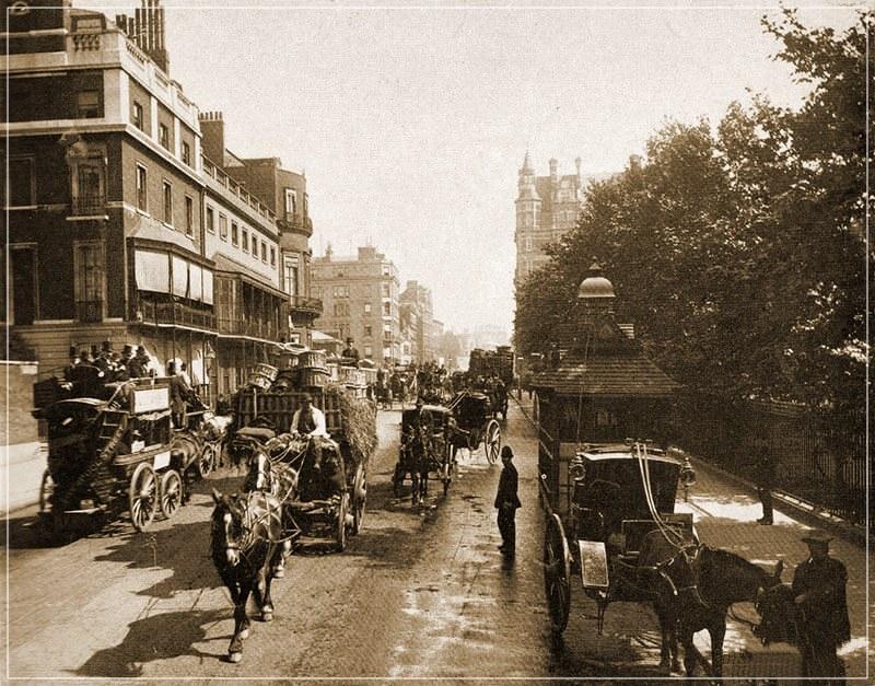 Лондон 19 века