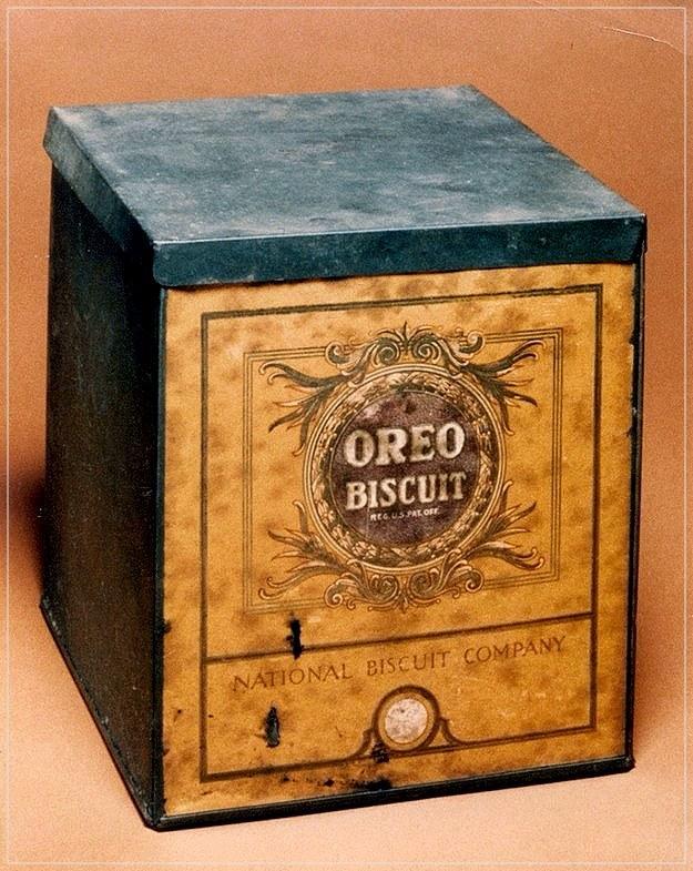 Коробка Oreo 1912 года